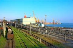 Logistikmitte lizenzfreies stockfoto
