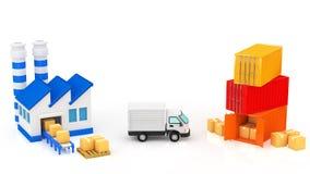 Logistique Photographie stock libre de droits