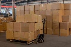 Logistique de Minsheng, Chongqing, entrepôt de pièces d'auto de branche de Hebei Photo stock