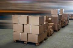 Logistique de Minsheng, Chongqing, entrepôt de pièces d'auto de branche de Hebei Photos stock