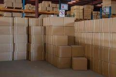 Logistique de Minsheng, Chongqing, entrepôt de pièces d'auto de branche de Hebei Image libre de droits