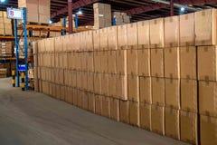 Logistique de Minsheng, Chongqing, entrepôt de pièces d'auto de branche de Hebei Photographie stock
