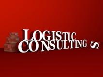 Logistique et consultation Photo libre de droits