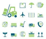 Logistique et ventes - Iconset - icônes illustration de vecteur
