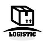 Logistisch ontwerp Het verschepen en Leveringsconceptie Stock Foto