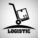 Logistisch ontwerp Het verschepen en Leveringsconceptie Stock Fotografie