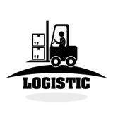 Logistisch ontwerp Het verschepen en Leveringsconceptie Stock Afbeeldingen