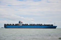 Logistisch Schip Royalty-vrije Stock Foto's