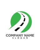 Logistischer Logo Template Lizenzfreies Stockbild