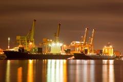 Logistisches Verschiffen stockfoto