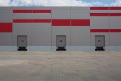 logistisk korridor royaltyfri fotografi