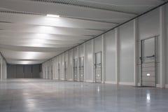logistisk korridor arkivbild