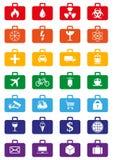 Logistyk usługa barwione ikony ustawiać Zdjęcie Stock