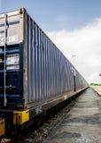 Logistyki i transport ładunków zafrachtowań statek Fotografia Stock
