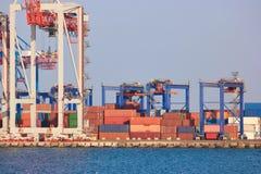 Logistyki i transport zbiornika ładunku statek obrazy stock