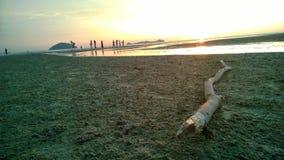 Logkawi захода солнца Стоковое Изображение RF