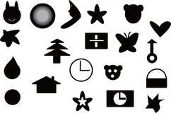Logoãelements voor Ontwerp Stock Foto