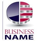 Logo élégant Photographie stock libre de droits