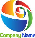 Logo élégant illustration de vecteur