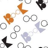 Logo światowy książkowy i prawo autorskie dzień royalty ilustracja