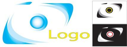 Logo. Camera photo photos business cards graphics  the company Royalty Free Stock Photography