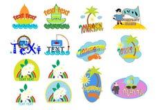 logo stock illustrationer