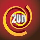 logo 2011 Royaltyfria Foton