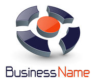 Logo 3d Photo stock