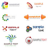 logo 3D Photographie stock libre de droits