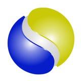 Logo 3D Photos libres de droits