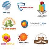 logo 3D Images stock