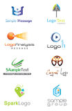 logo 3D Photographie stock