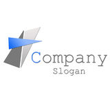 Logo. A logo for a small company Royalty Free Stock Images