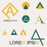 Logo A Arkivbild