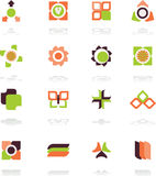 Logo. A set of vector symbols for creative design Royalty Free Stock Images