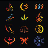 logo zdjęcia stock