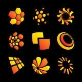 Logo. Set of design elements stock illustration