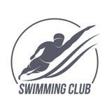 Logo aérobie de séance d'entraînement images stock