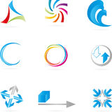 Logo, Abstract Design Elements, service logos Stock Image