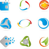 Logo, Abstract Design Elements, service logos Stock Images