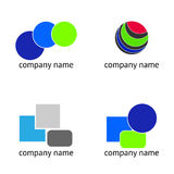 SET - Logo abstract Stock Photography