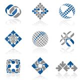 Logo Abstract Set 1 Stock Image