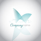 Logo abstrait Photos libres de droits