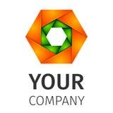 Logo abstrait illustration libre de droits