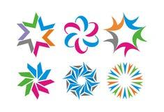 Logo abstrait Illustration de Vecteur
