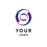 Logo abstrait de cercle d'affaires logotype Vecteur illustration de vecteur