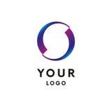 Logo abstrait de cercle d'affaires logotype Vecteur illustration stock