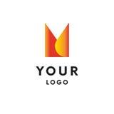 Logo abstrait logotype Vecteur Forme simple illustration stock