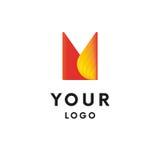 Logo abstrait logotype Vecteur Forme simple illustration libre de droits
