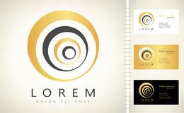 Logo abstrait Symbole d'affaires Image stock